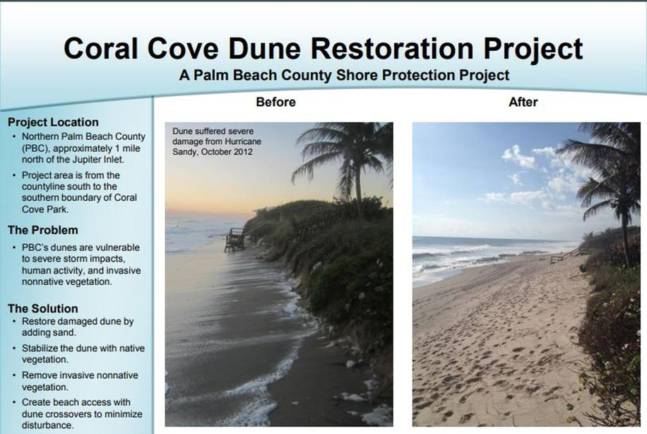 County asks state for $7 6 million to help 'critically eroded