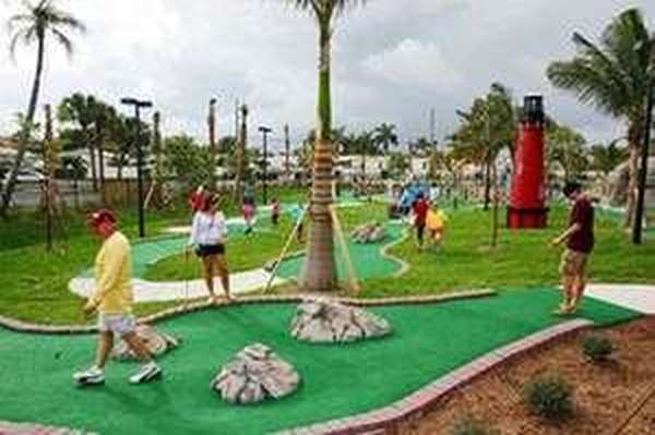 Pavilion, playground approved for Jupiter mini-golf photo