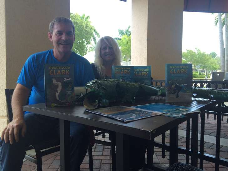 Memory of snorkeler featured in Gardens couple's children's books photo