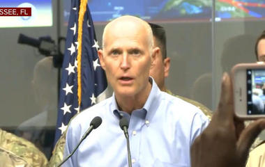 Florida Gov. Scott: The storm surge can kill you
